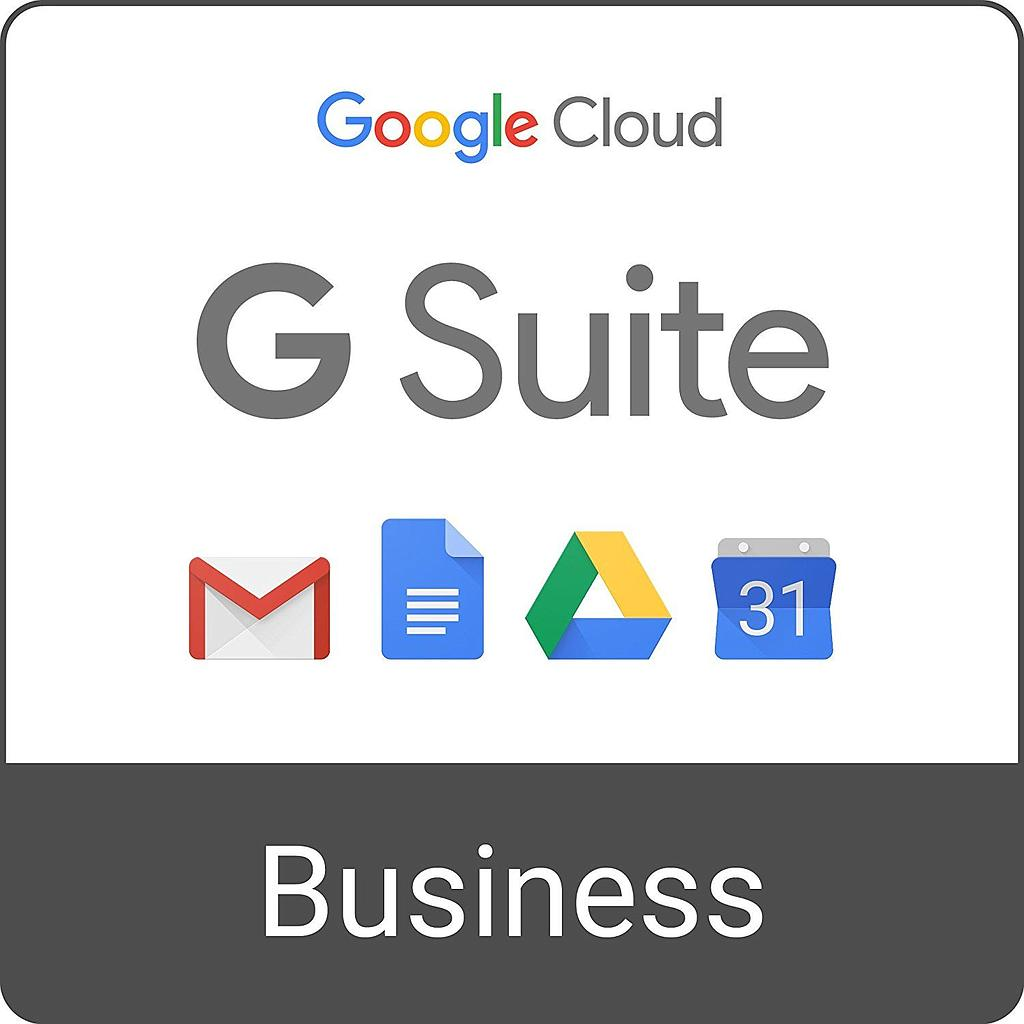 Licencias G Suite Business Mensual
